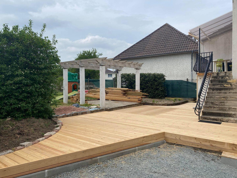 Aménagement terrasse extérieur Bati Connect Vichy