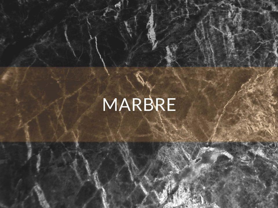Le marbre - Courtage Bati-connect